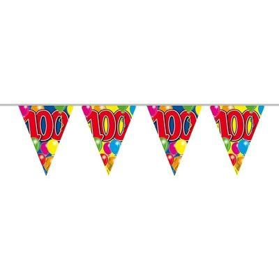 Foto van Vlaggenlijn balloons 100 jaar 10M