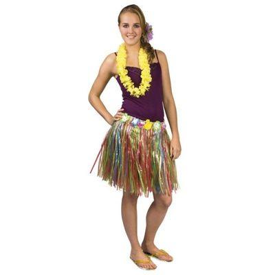 Foto van Hawaiirokje veelkleurig (45 cm)