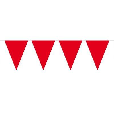 Foto van Mini Vlaggenlijn Rood /3mtr