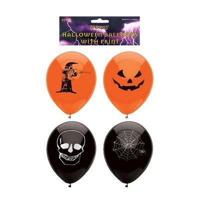Foto van Halloween ballonnen (23cm) 15st