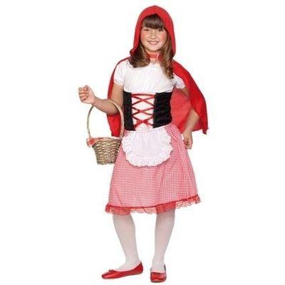 Roodkapje kostuum kind