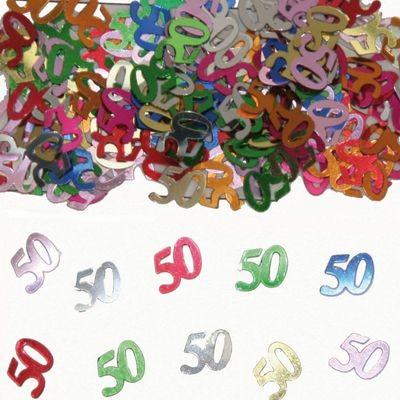 Tafel Confetti 50 jaar