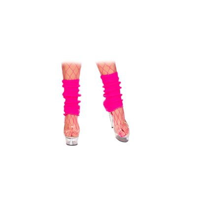 Foto van Neon beenwarmers roze