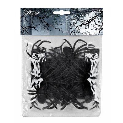 Foto van Zak met 12 spinnen zwart