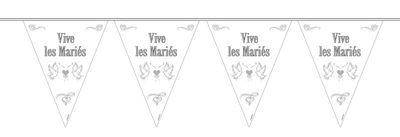 Vlaggenlijn Vive les Mariés/stk