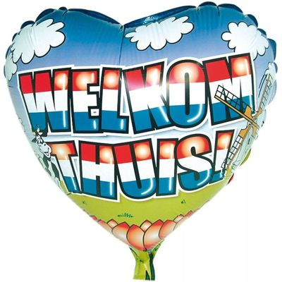 Foto van Folie ballon Welkom Thuis