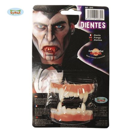 Vampier tanden boven en onder
