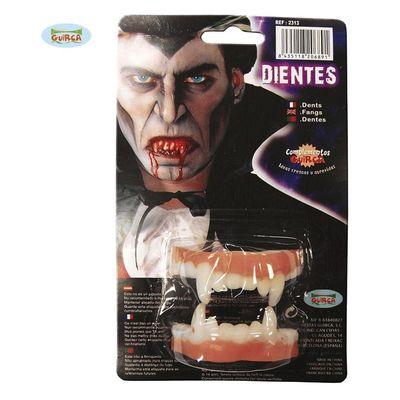 Foto van Vampier tanden boven en onder