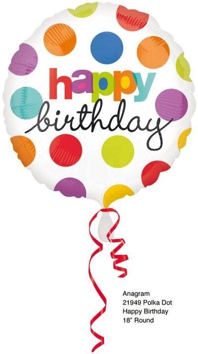 18V Polka Dot Birthday