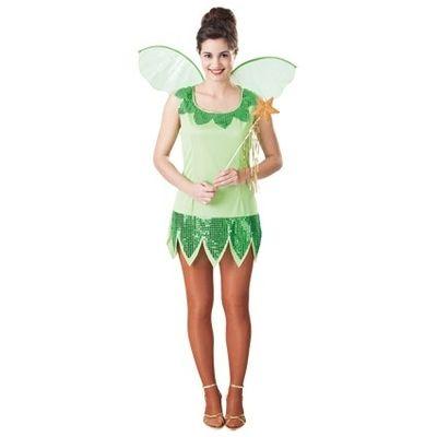Foto van Tinkerbell kostuum