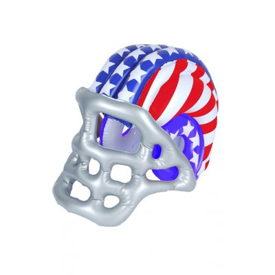 Foto van Opblaas American Football helm