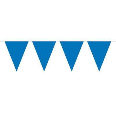 Vlaggenlijn Effen Blauw /10mtr