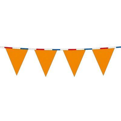 Foto van Vlaggenlijn Oranje met RWB Lint 10m