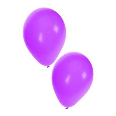 Ballonnen paars 50 stuks 10inch