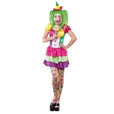 Clowns jurkje dames