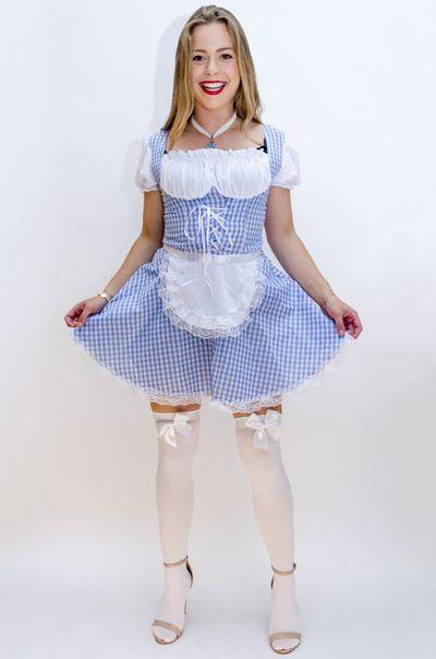 Oktoberfest jurkje - beiers blauw