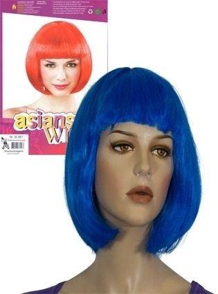 Bobline Pruik Lang blauw