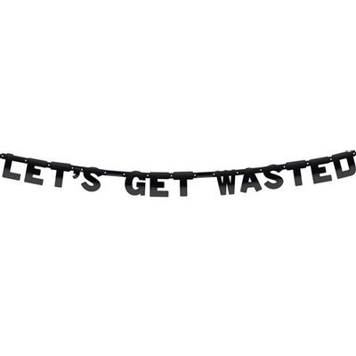 Letterslinger Let´s Get Wasted