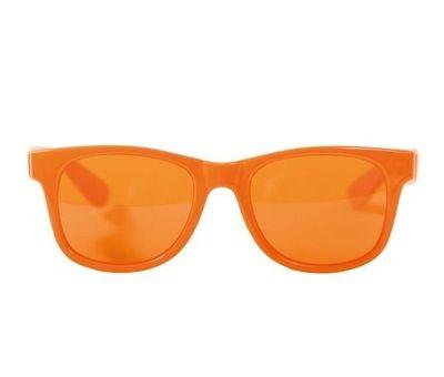 Oranje bril