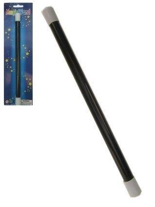 Toverstaf zwart (30 cm)