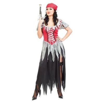 Foto van Piraten pak dames - zeeroofster