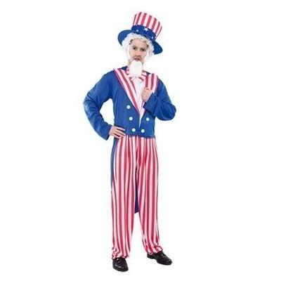 Foto van Uncle Sam kostuum