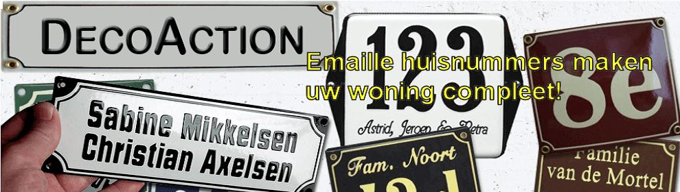 Emaille Huisnummers