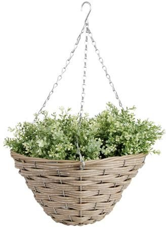 Artificial hanging basket groot Esschert Design