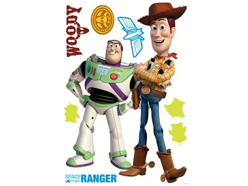 Maxi sticker Toy Story - Decofun
