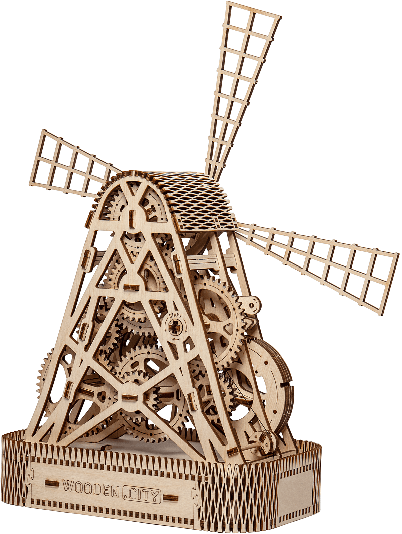 Wooden City Molen hout