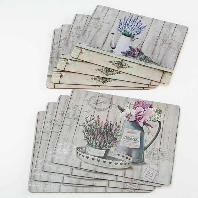 Placemat Lavendel set