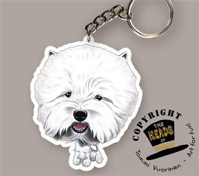 Sleutelhanger West Highland White Terrier