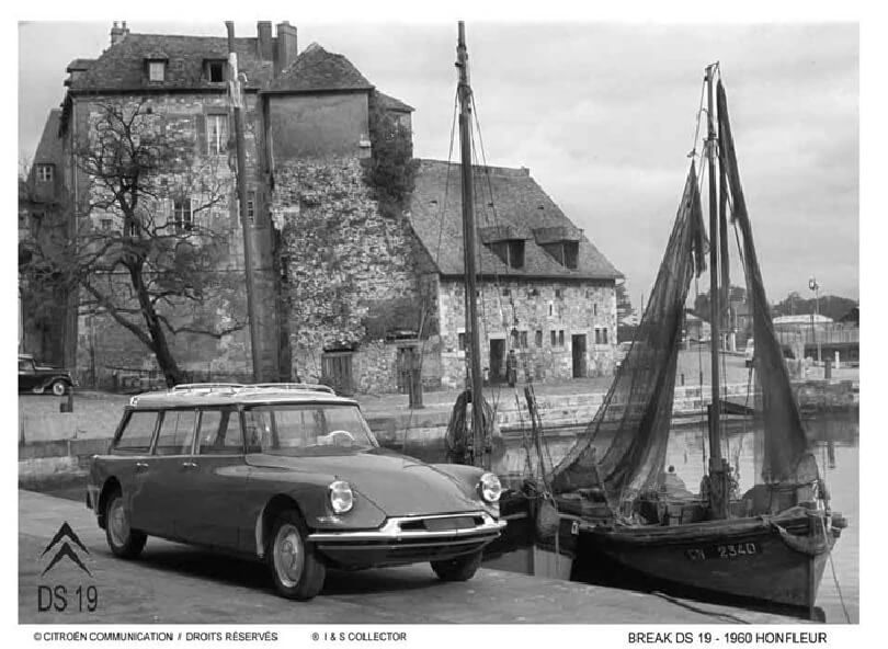 Citroen DS19 Break Honfleur