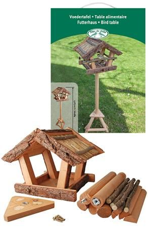 Voedertafel boomschors in giftbox / Esschert Design