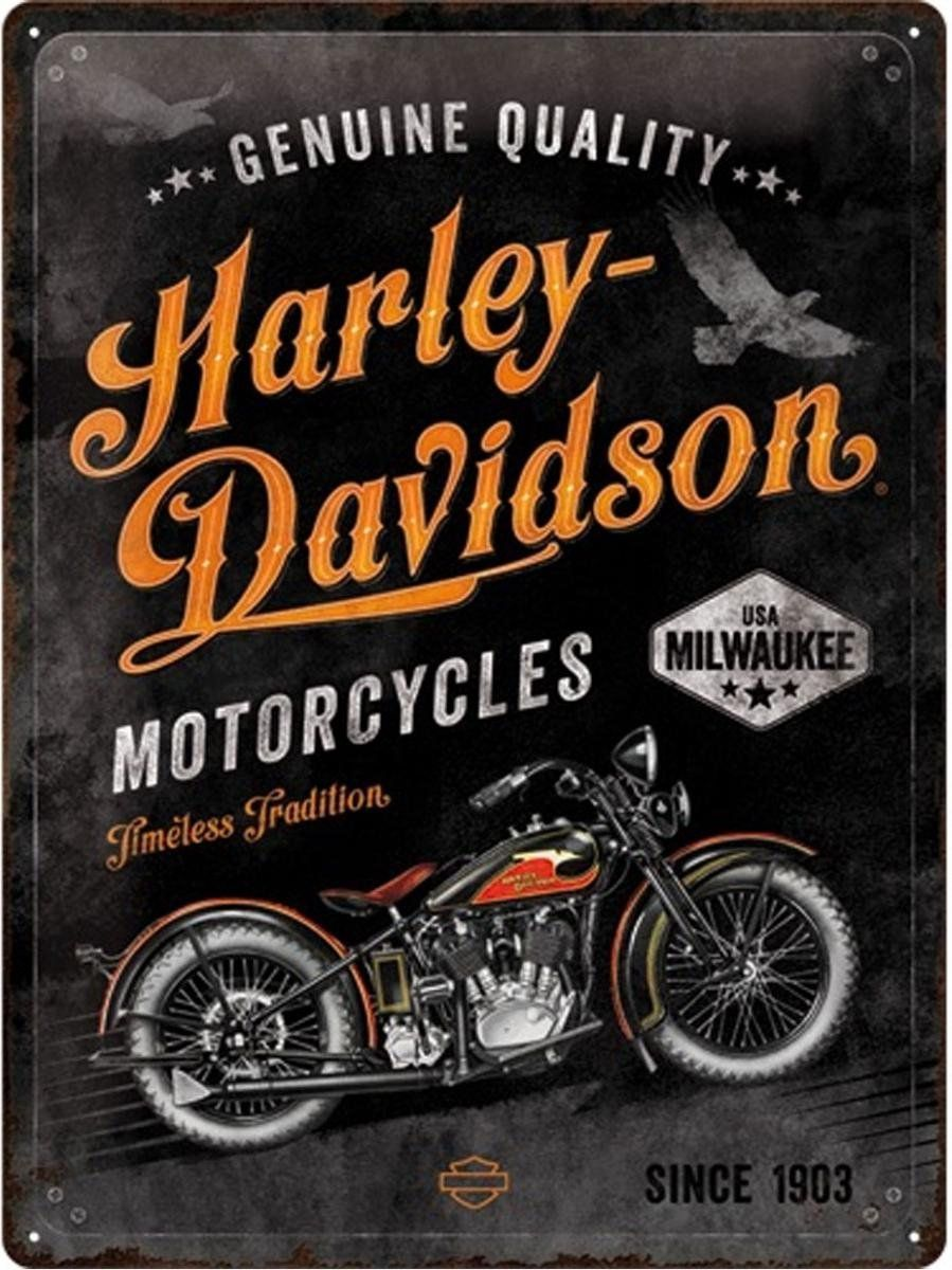 Harley Davidson Wandbord Timeless Tradition