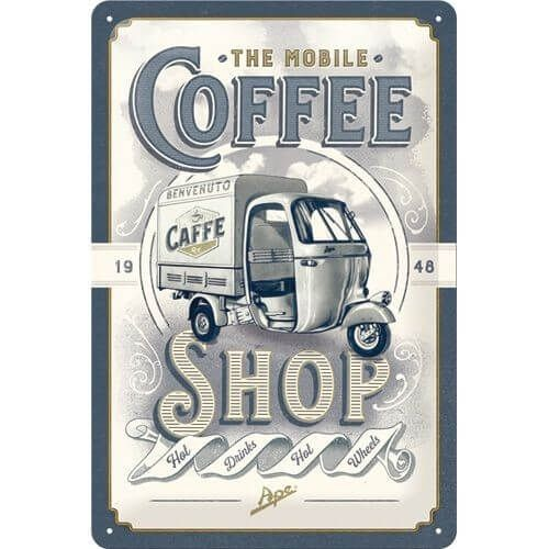 Wandbord the Mobile Coffee shop