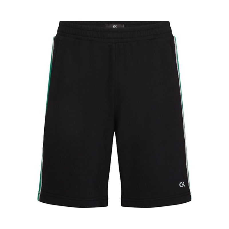 Calvin Klein CK performance korte broek zwart met groen.