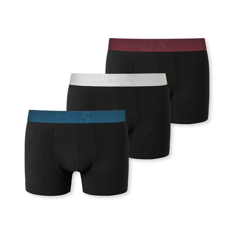 Schiesser 3-pack boxershort mannen multi
