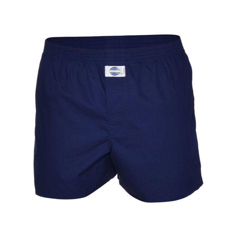 DEAL boxershort blauw uni