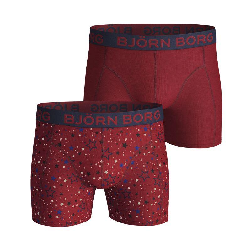 Björn Borg 2-pack SAMMY GRAPHIC STAR RED