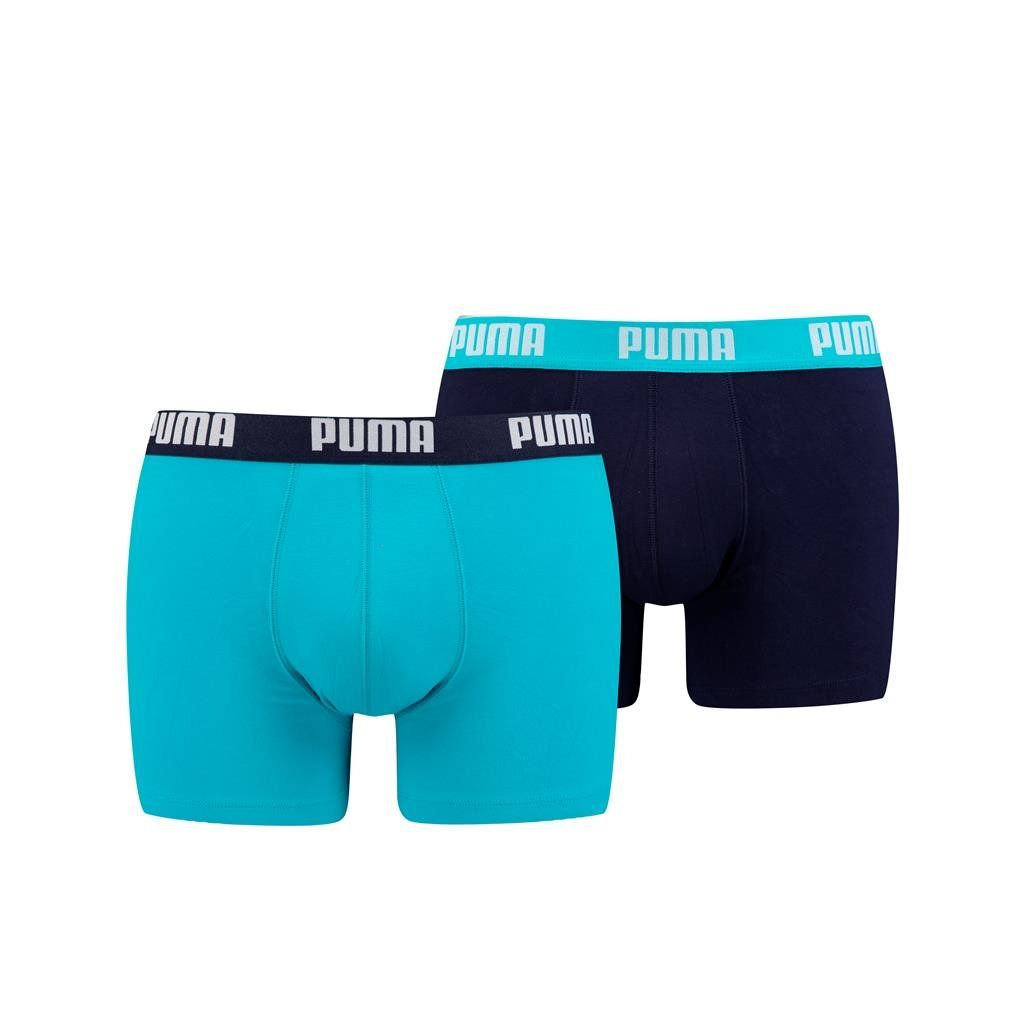 Puma 2-pack heren boxershort Basic - licht blauw blauw