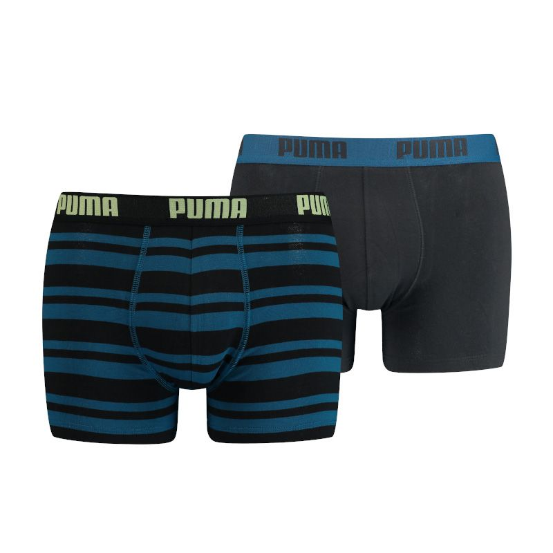 Puma 2-pack boxershorts vintage stripe blauw