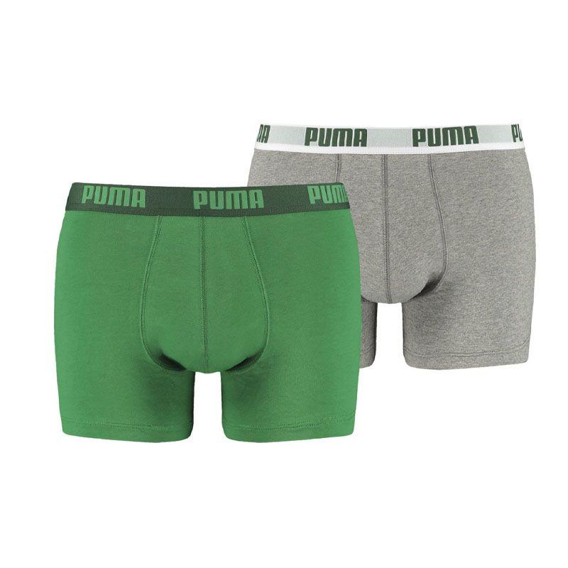 Puma 2-pack basic boxershorts - amazon groen