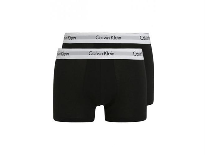 Calvin Klein 2-pack Boxershort, Modern Cotton Zwart