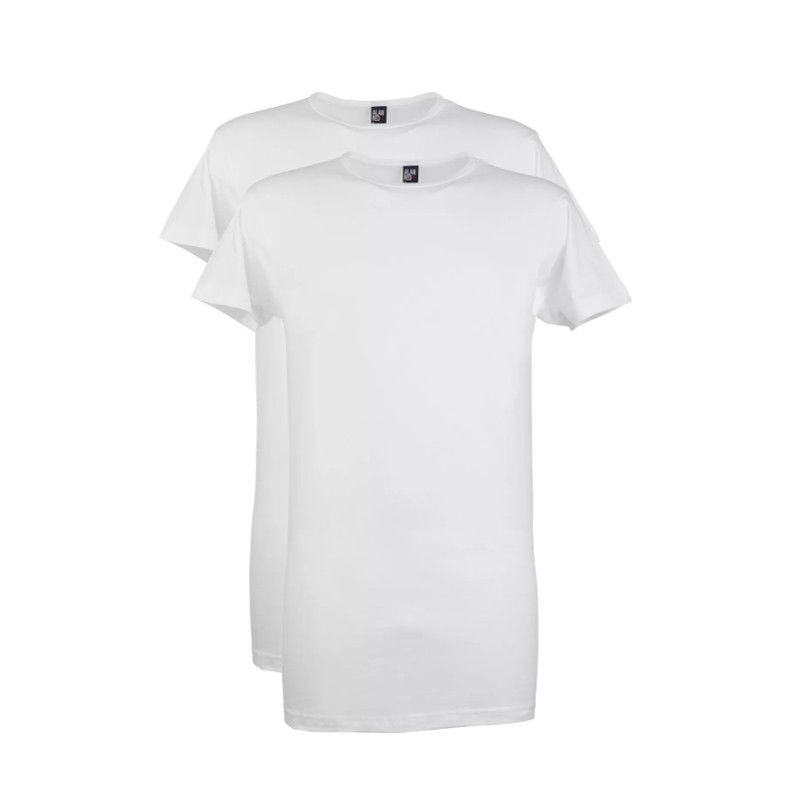 Alan Red 2- Pack T-shirts DERBY, Ronde Hals, Extra Long Wit