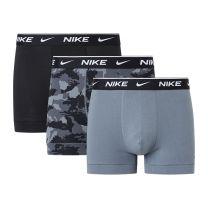 Nike 3-pack boxershorts trunk camo print charcoal