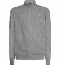 Calvin Klein heren jack met rits - grijs vest
