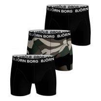 Björn Borg 3-pack core boxershorts army print