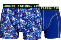 Zaccini 2-pack boxershorts snowboard.