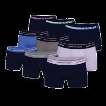 Tommy Hilfiger 9-pack boxershorts - groen/paars/blauw